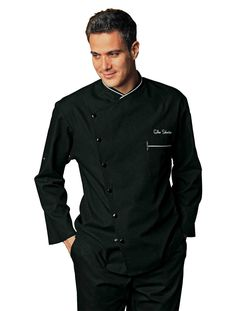 Bragard Chicago Chef Jacket w/Honeycomb Weave Hotel Uniform, Corporate Shirts, Corporate Uniforms, Restaurant Uniforms, Corporate Fashion, Uniform Design, Fashion Brand, Chef Jackets, Outfits