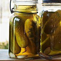 BHG's Newest Recipes:Vi's Garlic Dill Pickles by Trisha Yearwood Recipe