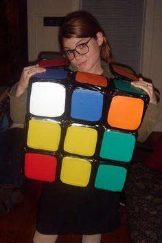 Rubik's cube Halloween costume