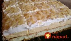 ledene kocke — Coolinarika - My site Russian Pastries, Y Recipe, Sour Cream Sauce, Cake Bars, Famous Drinks, Russian Recipes, Seafood Dishes, Pavlova, Appetizer Plates