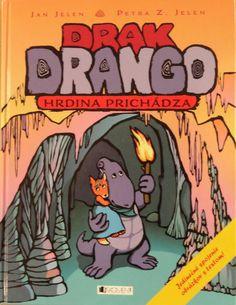 Tamarka's favourite book Drak Drango. Comic Books, Comics, Cover, Art, Art Background, Kunst, Cartoons, Cartoons, Performing Arts