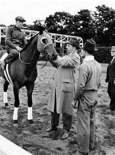 "Seabiscuit - one of the most inspiring stories. Anyone can make it big.. No matter if you're a knock kneed, ""too small"" racehorse who becomes loved by the entire world or his misunderstood, troubled, red headed jockey <33"