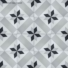 Cement Tile Shop - Handmade Cement Tile   Star