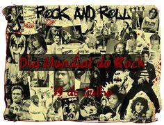 """Dia Mundial do Rock                                     """"one, two, three o'clock, four o'clock, rock"""" ... jamilcredimusica.blogspot.com"""