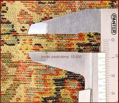 antique senneh seven colors 4 detail
