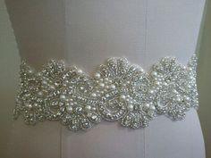 VENTA  boda correa cinturón nupcial marco correa cristal