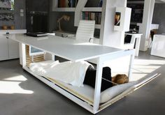 Napping at your desk just got a whole lot easier LOL!