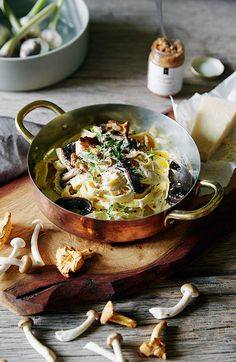 Your pasta sauce is missing a secret ingredient… http://www.dunnesstores.com/creamy-mushroom-tagliatelle/content/fcp-content