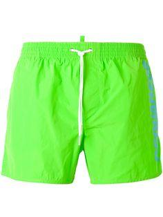 cd00cd15e50e4 DSQUARED2 Side Logo Swim Trunks. #dsquared2 #cloth #trunks Boys Swimwear,  Nike