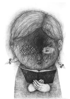 Drawings 2012 part 4 by Stefan Zsaitsits, via Behance