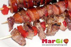 Ricetta spiedini di maiale in padella secondi di carne gustosi