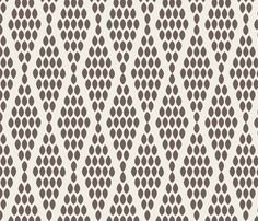 Headboard: farmhouse_beaded_triangle_gray fabric by holli_zollinger on Spoonflower - custom fabric