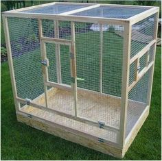 Best pet bird cage diy ideas - Pet care is both enjoyable business., The bird cage is both a house for the birds and an ornamental tool. You are able to choose whatever you want among the bird cage types and get far more unique images. Bird Cage Design, Diy Bird Cage, Parakeet Cage, Cockatiel Cage, Cat Cages, Rabbit Cages, Iguana Cage, Best Pet Birds, Large Bird Cages
