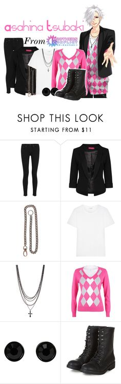 """""""Asahina Tsubaki from Brothers Conflict!"""" by drinkdionysus ❤ liked on Polyvore featuring rag & bone, Boohoo, Yves Saint Laurent, Caribbean Joe, Givenchy, women's clothing, women, female, woman and misses"""