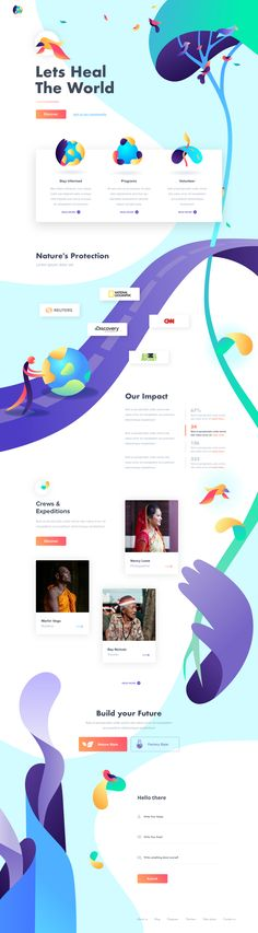 Environmental Protection - Landing Page by Outcrowd