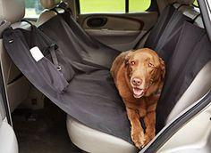AmazonBasics Housse de protection de banquette arrière imperméable de type hamac pour animaux domestiques