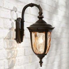 "Bellagio 16 1/2"" High Downbridge Outdoor Wall Light - #46910 | Lamps Plus"