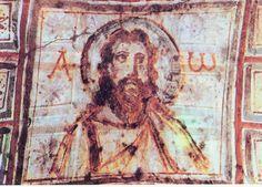Иисус. Роспись катакомб Комодиллы