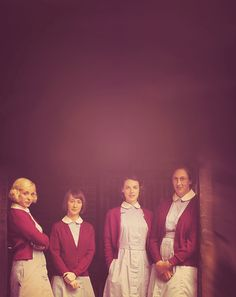 call the midwife - love the show, the books, and this photo