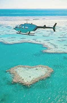 Great Barrier Reef, Australia I flew out in a sea plane and snorkelled on the edge of the reef...was akin to being on the edge of a high mountain and looking down into the depths.  fantastic (gb)