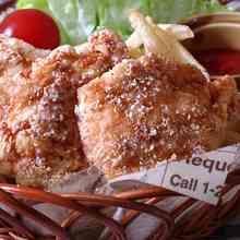 コンソメチーズ味☆鶏胸肉の唐揚げ♪