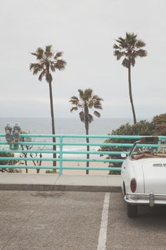 Cruisin Manhattan Beach Art Print