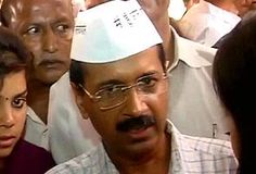 At Arvind Kejriwal's political launch, a new version of the Anna topi