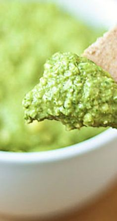 Love Spinach Artichoke dip? This 5-minute Spinach Artichoke hummus is your new favorite dip!