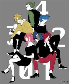 Though I don't like Ichiji Niji and Yonji, Reiju and Sanji looks dadgum great