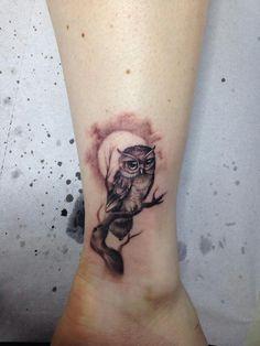 Tattoo studio Nadelwerk ++++++ Walk in Days ++++++ In the period from Sin … - Inspirierende Tattoos Bild Tattoos, Mom Tattoos, Finger Tattoos, Body Art Tattoos, Cute Owl Tattoo, Owl Tattoo Small, Tattoo Designs, Owl Tattoo Design, Tattoos For Women Small