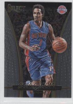 2015-16 Panini Select #257 - Courtside - Brandon Jennings