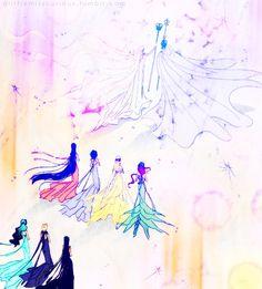 sailor moon manga  Love this image.