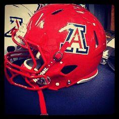 Arizona Wildcats football: Cats' red helmets