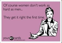 That's right girls...
