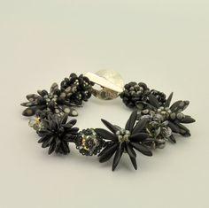 Tutorial Bead Jewelry Bracelet Pattern Morphing by 1beadweaver