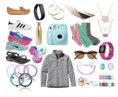 """""""WISHLIST"""" by ktanner02 on Polyvore featuring adidas, Fitbit, Ray-Ban, Chaco, Patagonia, NIKE, J.Crew, S'well, UGG Australia and Moon and Lola"""
