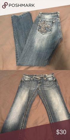 Miss Me Jeans Style JP5402B- Small tear near zipper Miss Me Jeans Boot Cut