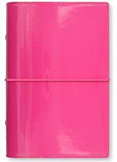 Filofax DOMINO PATENT Hot Pink Personal