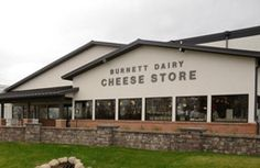 Burnett Dairy Cheese Store in Alpha, Wisconsin Great place to buy cheese and grab a phenomenal sandwich, ice cream cone, or some fresh fried cheese curds!