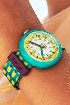 Children's Watches, Stay Fresh, Telling Time, Lemon Water, Green Cleaning, Freeze, Swatch, Bracelet Watch, Swarovski