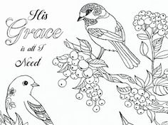 Birds - Google Drive Fairy Coloring, Adult Coloring Pages, Colouring, Printable Bible Verses, Bible Verses Quotes, Bible Verse Coloring Page, Addams Family Characters, Kids Church, Google Drive