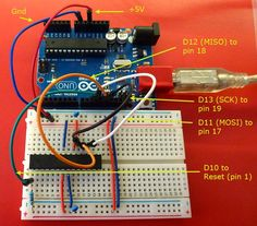 Electronics : Microprocessors : How to make an Arduino-compatible minimal board