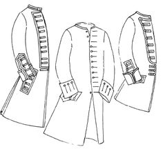 Military coat - officer or enlisted man variations