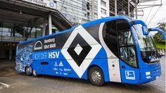 Rauten-Express im neuen Design (09.2015) jou, meen jong, denn man tau ; ... nur der HSV !!