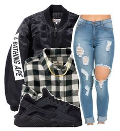 """""""2/26/16"""" by xtaymaxlovesxmisfitx ❤ liked on Polyvore featuring Woolrich and NIKE"""