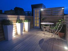 Roof Terrace Lighting
