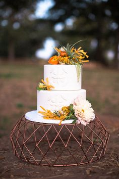 36 Best Cakes Images Copper Wedding Cake Wedding Cake Stands