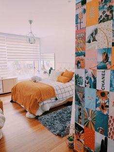 Bedroom Decor For Couples, Cute Bedroom Ideas, Cute Room Decor, Room Ideas Bedroom, Home Decor Bedroom, Bedroom Inspo, Girls Bedroom Colors, Teen Room Decor, Diy Bedroom