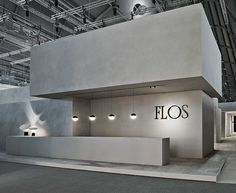 FLOS reception desk area | City Lighting Products | Commercial Lighting | www.facebook.com/CityLightingProducts