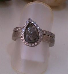 Todd Reed's rough diamond ring, love!